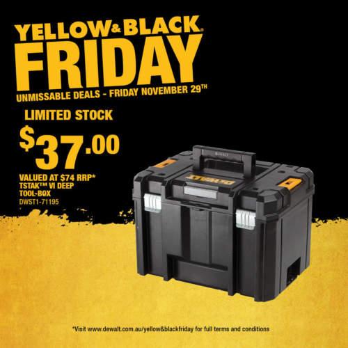 DW266 Yellow Black Friday November Social 1080x10806