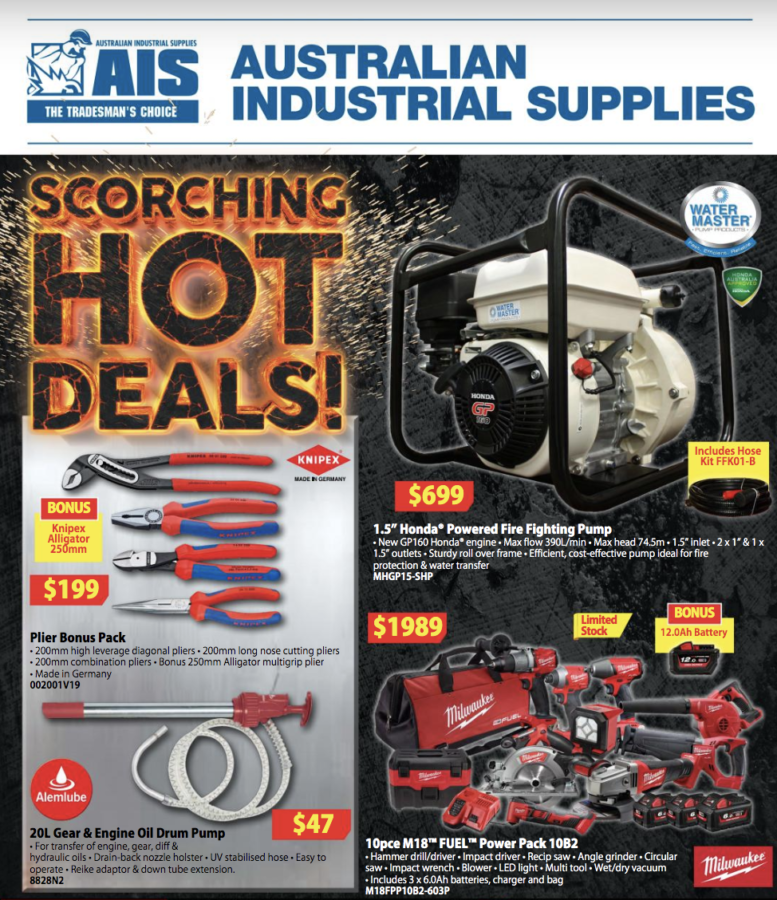 AIS Scorching hot deals catalouge